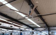 标准钢结构厂房大风扇